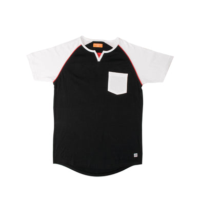 MEN'S SS REGLAN-Black/White-EMSS20KM-1007 - Export Mall Online Store Sale