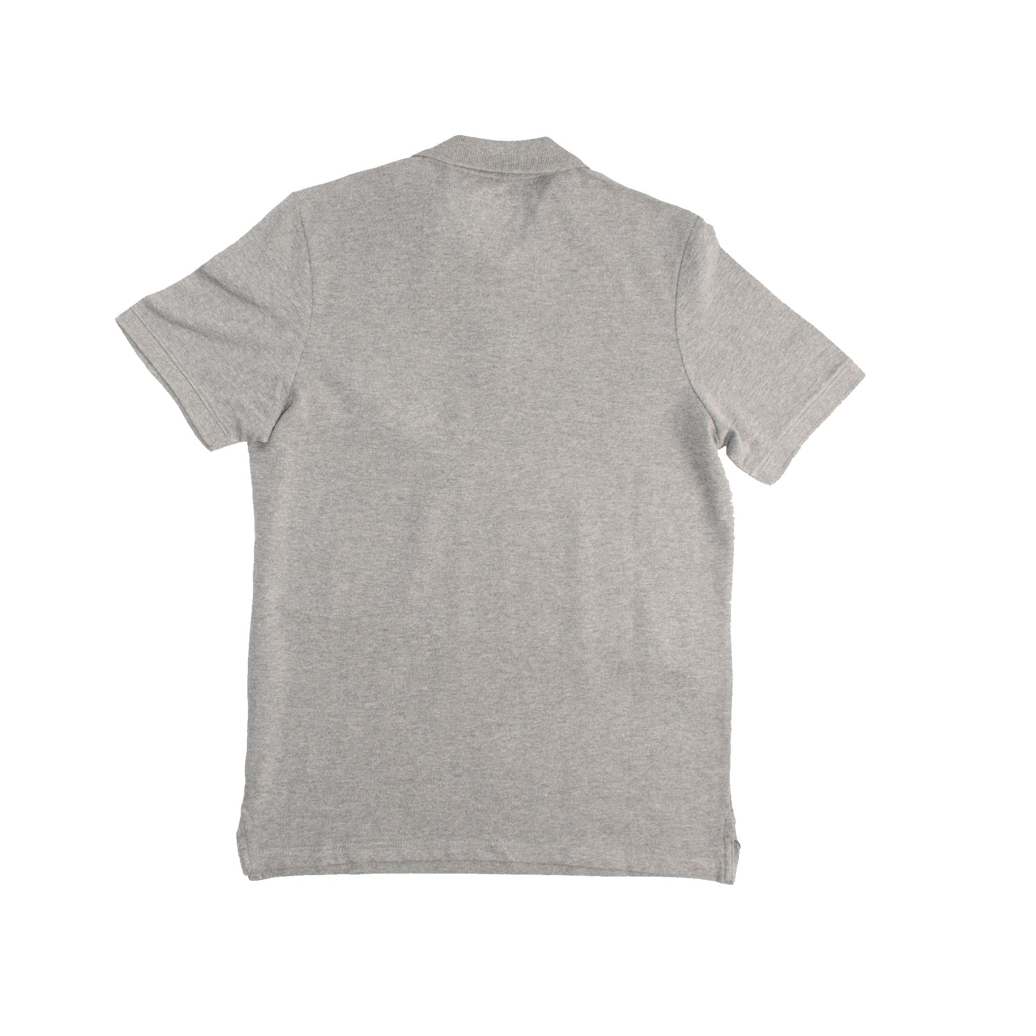 MEN'S S/S POLO - GREY STONE - Export Mall
