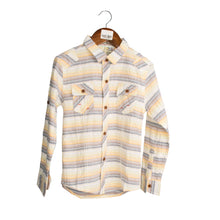 Load image into Gallery viewer, BOY'S L/S SHIRT-YELLOW / CHECK-3301 - Export Mall Online Store Sale