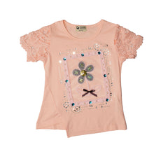 Load image into Gallery viewer, GIRL'S S/S TEE-Pink-SSSS20KG-2202 - Export Mall Online Store Sale