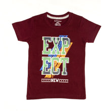 Load image into Gallery viewer, BOYS' S/S GRAPHIC TEE - MAROON - Export Mall