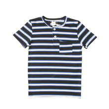 Load image into Gallery viewer, BOY'S S/S HENLEY-BLACK/BLUE/WHITE-SSSS20KB-1108 - Export Mall Online Store Sale