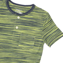 Load image into Gallery viewer, BOY'S S/S HENLEY-GREEN/NAVY-SSSS20KB-1108 - Export Mall