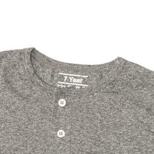 Load image into Gallery viewer, BOY'S S/S HENLEY-CHARCOAL HEATHER-SSSS20KB-1108 - Export Mall Online Store Sale