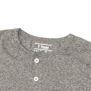 BOY'S S/S HENLEY-CHARCOAL HEATHER-SSSS20KB-1108 - Export Mall Online Store Sale