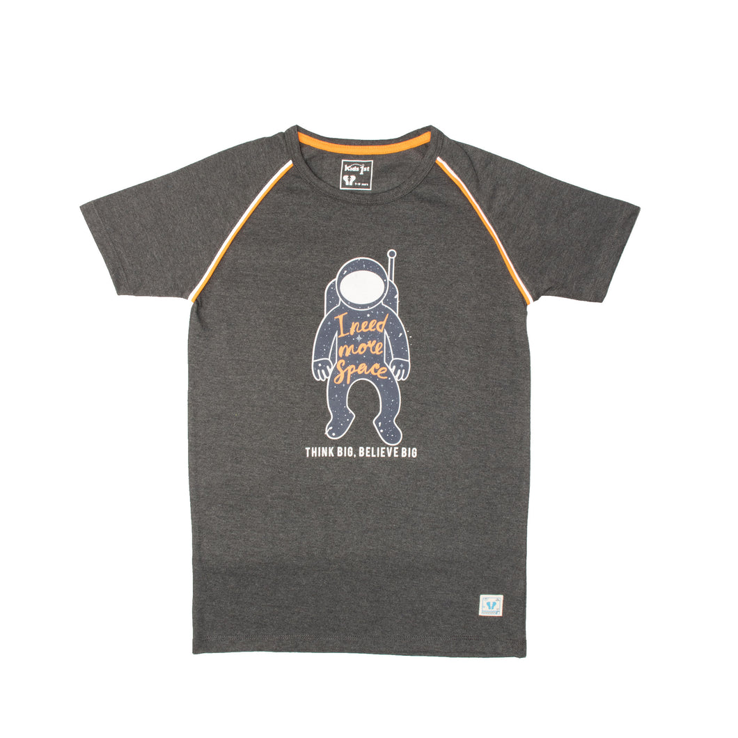 BOY'S S/S RAGLAN-CHARCOAL-1107 - Export Mall Online Store Sale