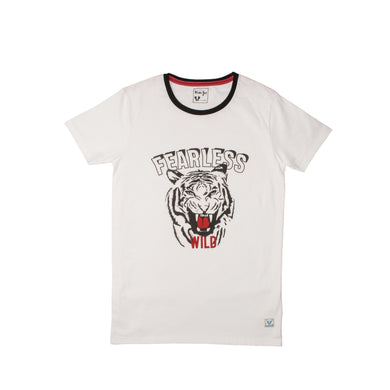 Boy's S/S Graphic Tee-White - Export Mall Online Store Sale
