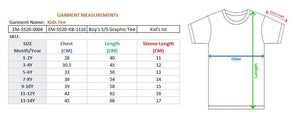 BOYS S/S GRAPHIC TEE-ZINK-1110 - Export Mall Online Store Sale