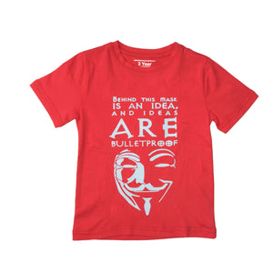 BOY'S S/S GRAPHIC TEE-RED-SSSS20KB-1112 - Export Mall Online Store Sale