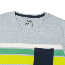Load image into Gallery viewer, BOY'S S/S GRAPHIC TEE-Sky/Lime - Export Mall Online Store Sale