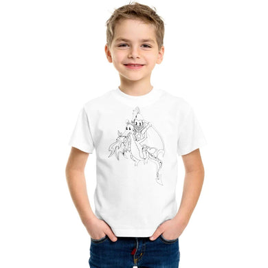 BOY'S S/S GRAPHIC TEE-WHITE-SSSS20KB-1119 - Export Mall Online Store Sale