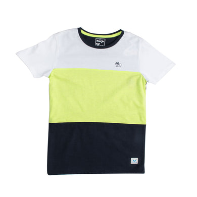 BOY'S S/S GRAPHIC TEE-WHITE/LEMON/NAVY-EMSS20KB-1102 - Export Mall Online Store Sale