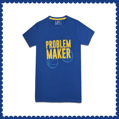 BOY'S S/S GRAPHIC TEE-TRUE BLUE-EMSS21KB-1138 - Export Mall Online Store Sale