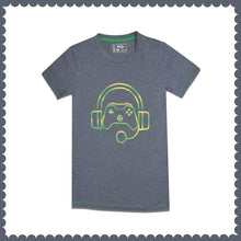 Load image into Gallery viewer, BOY'S S/S GRAPHIC TEE-DENIM HTR-EMSS21KB-1139 - Export Mall Online Store Sale
