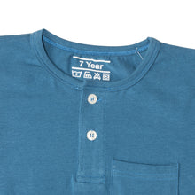 Load image into Gallery viewer, BOY'S S/S HENLEY-PALACE BLUE-SSSS20KB-1108 - Export Mall Online Store Sale