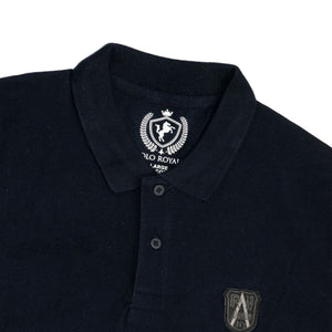 MEN'S S/S POLO-NAVY-1017 - Export Mall Online Store Sale
