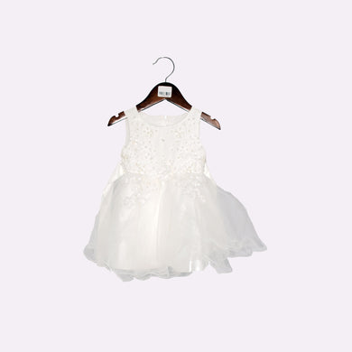GIRL'S FROCK-WHITE-SSSS20KG-2205 - Export Mall Online Store Sale