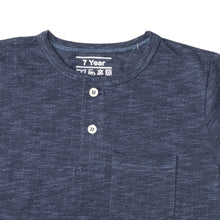 Load image into Gallery viewer, BOY'S S/S HENLEY-NAVY WITH DOT-SSSS20KB-1108 - Export Mall Online Store Sale