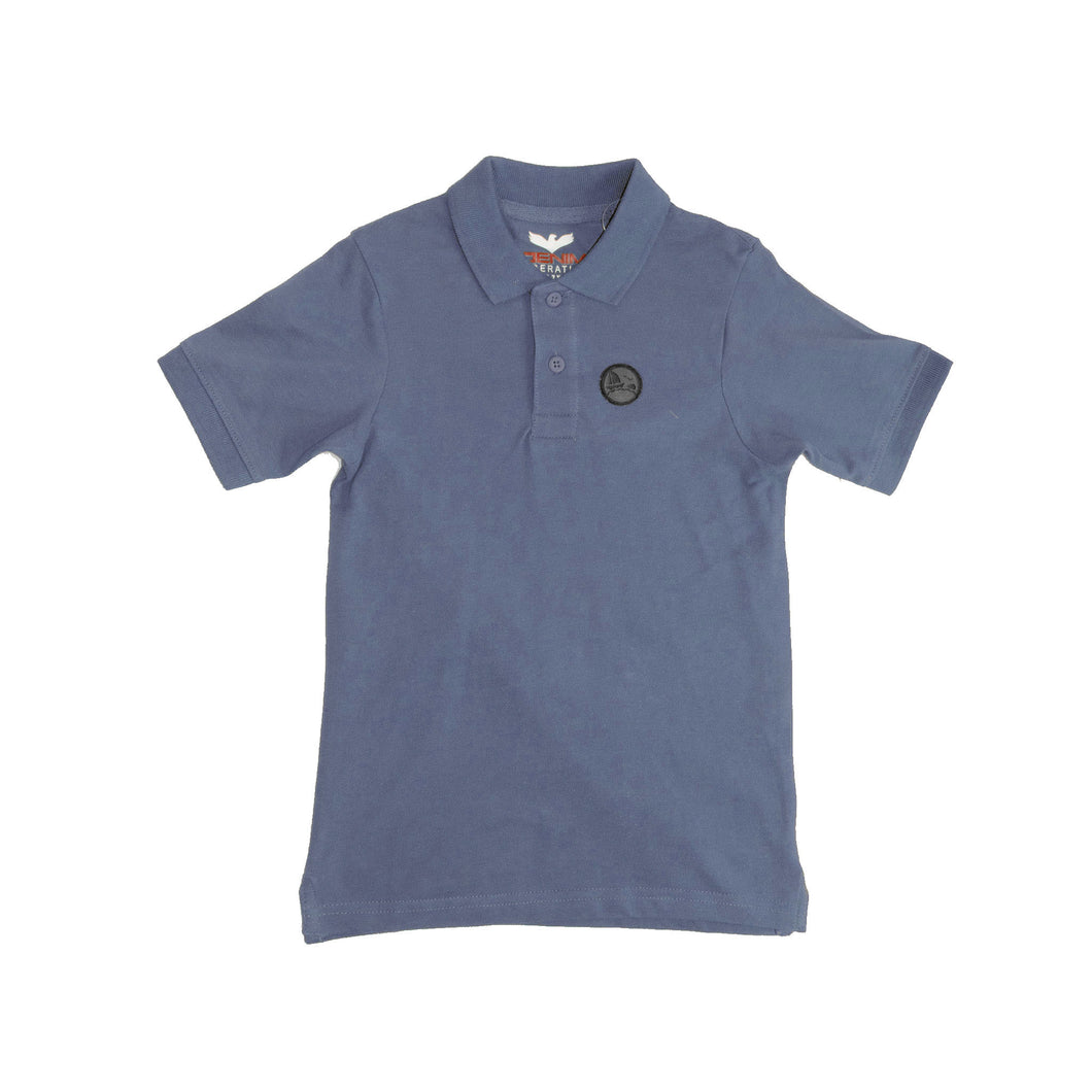 BOYS'S S/S POLO - DEEP SEA - Export Mall Online Store Sale