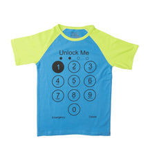 Load image into Gallery viewer, BOYS S/S RAGLAN-BLUE/GREEN-SSSS20KB-1111 - Export Mall Online Store Sale