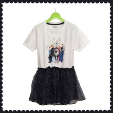 Load image into Gallery viewer, GIRL'S TUNIC-WHITE-BLACK - Export Mall Online Store Sale