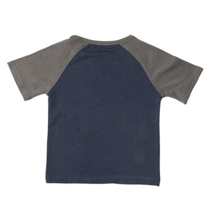 BOYS S/S RAGLAN-NAVY/DARK SHADOW-SSSS20KB-1109 - Export Mall