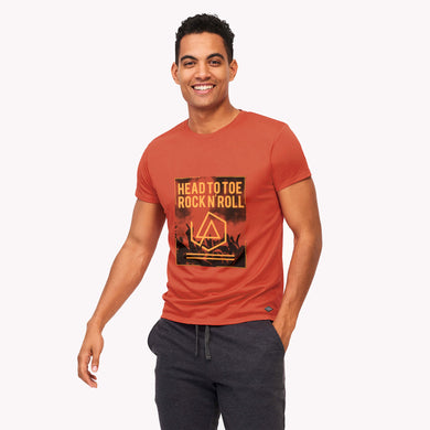 MEN'S S/S GRAPHIC TEE-Spiced Cider-EMSS20KM-1005 - Export Mall Online Store Sale