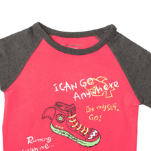 Load image into Gallery viewer, BOYS S/S RAGLAN-PINK/CHARCOAL-SSSS20KB-1109 - Export Mall Online Store Sale