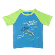 Load image into Gallery viewer, BOYS S/S RAGLAN-BLUE/GREEN-SSSS20KB-1109 - Export Mall Online Store Sale