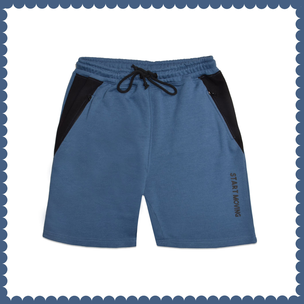 MEN'S SHORT-BLUE-EMSS21KM-1030 - Export Mall Online Store Sale