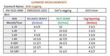 Load image into Gallery viewer, GIRL'S LEGGING-TOREADOR-EMSS21KG-2222 - Export Mall Online Store Sale