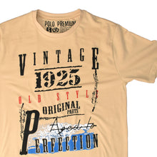 Load image into Gallery viewer, MEN'S S/S PRINTED TEE - BEIGE / VINTAGE - Export Mall Online Store Sale