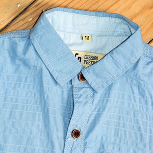 BOY'S S/S SHIRT-Sky Blue-SSSS20WB-3304 - Export Mall Online Store Sale