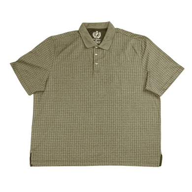 MEN'S S/S POLO - KHAKHI/BigTall - Export Mall Online Store Sale
