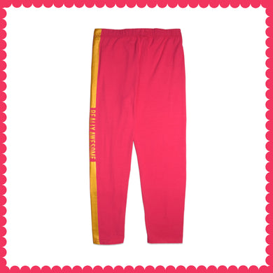 WOMEN LEGGING-PINK PEACOCK EMSS21KW- 2031 - Export Mall Online Store Sale