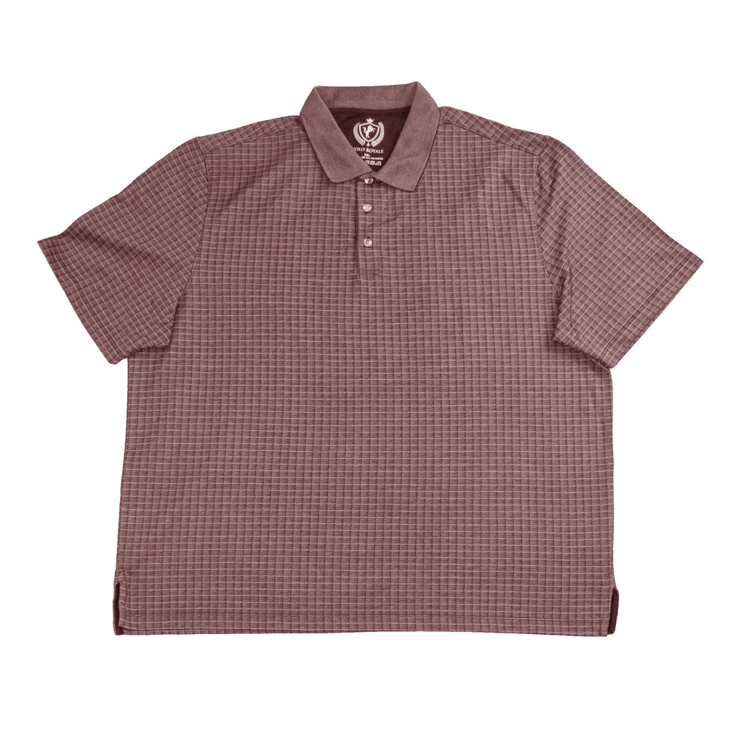 MEN'S S/S POLO - Red/BigTall - Export Mall Online Store Sale