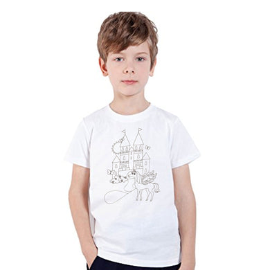 BOY'S S/S GRAPHIC TEE-WHITE-SSSS20KB-1122 - Export Mall Online Store Sale