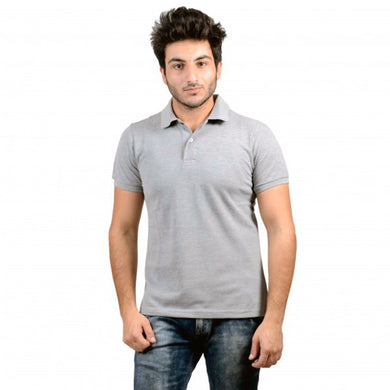 MEN'S S/S POLO - Gray/3640 - Export Mall Online Store Sale