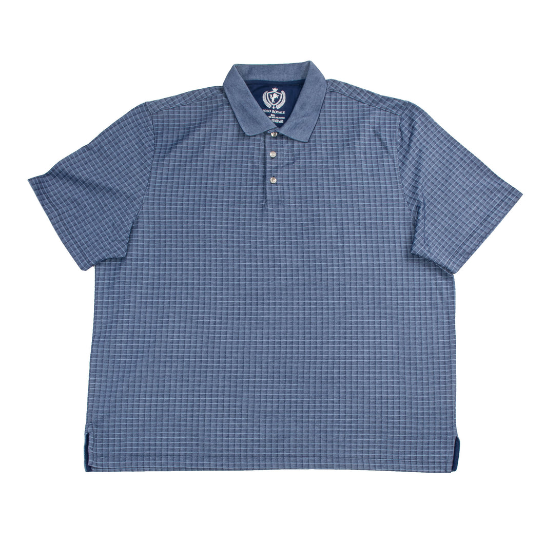 MEN'S S/S POLO - NAVY/BigTall - Export Mall Online Store Sale