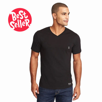 MEN'S S/S VEE-BLACK-EMSS20KM-1002 - Export Mall Online Store Sale