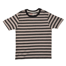 Load image into Gallery viewer, BOY'S S/S TEE-25BS-STK-ASRT01-Gray/Black Stripe - Export Mall Online Store Sale
