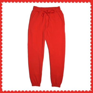 WOMEN'S TROUSER-RED-EMSS21KW-2003 - Export Mall Online Store Sale