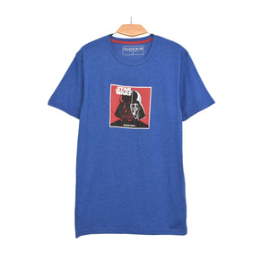 MEN'S S/S GRAPHIC TEE-BLUE-EMSS21KM-1008 - Export Mall Online Store Sale
