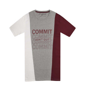MENS S/S GRAPHIC TEE-WHITE/GREY/MAROON-EMSS21KM-1004 - Export Mall Online Store Sale