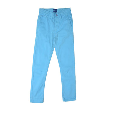 BOY'S PANT CYAN - 25 - Export Mall Online Store Sale