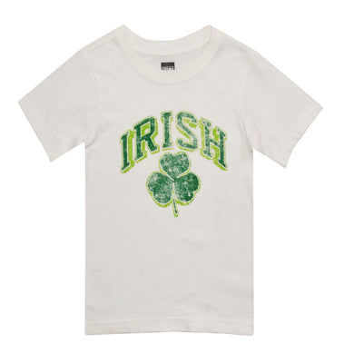BOY'S S/S GRAPHIC TEE-WHITE/IRISH-SSFW20KB-A011 - Export Mall Online Store Sale