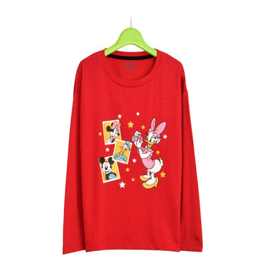 GIRL'S L/S GRAPHIC TEE-STRAWBERRY RED-EMSS21KG-2215 - Export Mall Online Store Sale