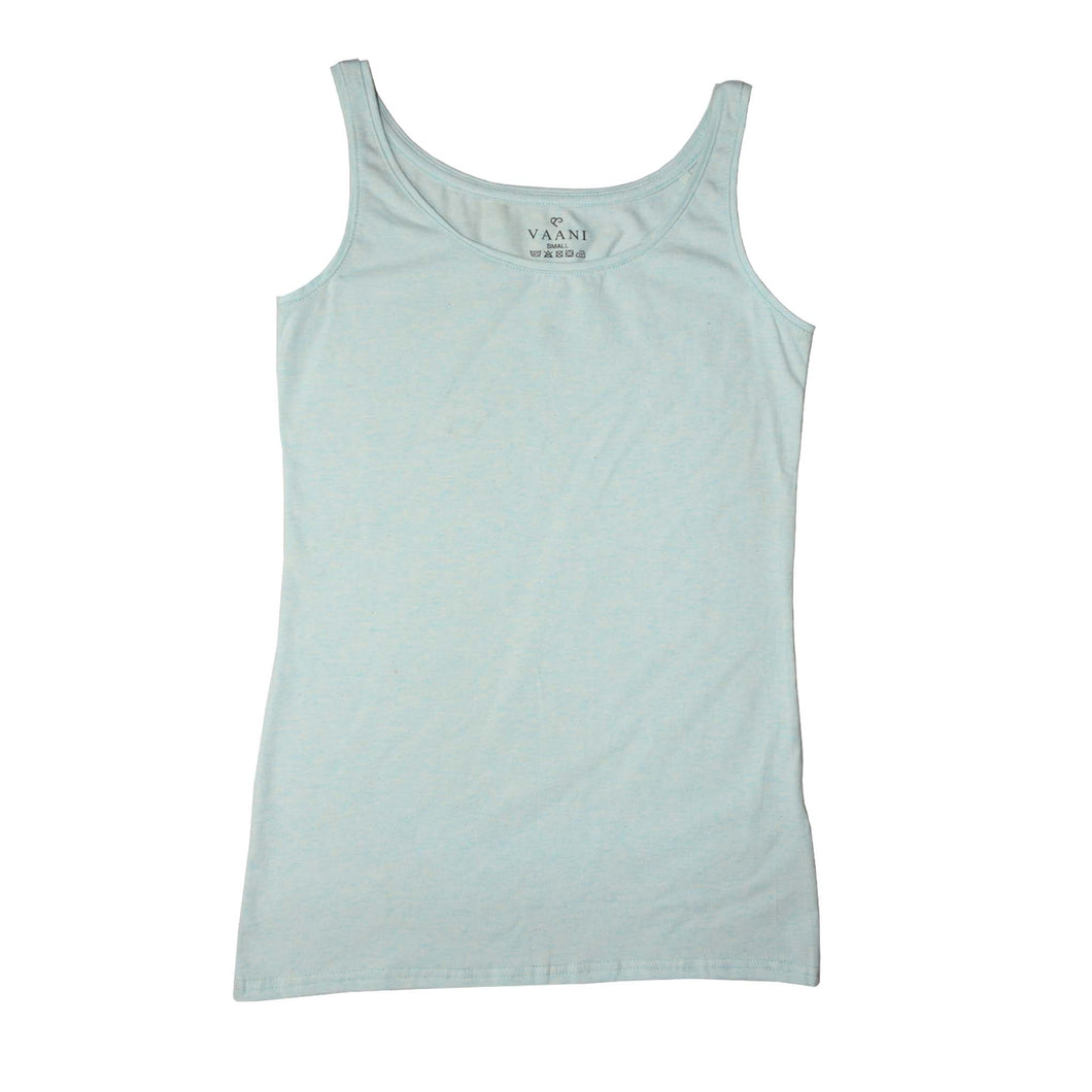 WOMEN'S TANK SEA GREEN-3594 - Export Mall Online Store Sale