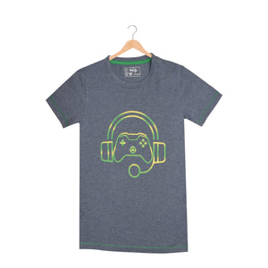 BOY'S S/S GRAPHIC TEE-DENIM HTR-EMSS21KB-1139 - Export Mall Online Store Sale