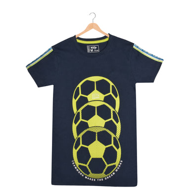 BOY'S S/S GRAPHIC TEE-BLUE COVE-EMSS21KB-1137 - Export Mall Online Store Sale